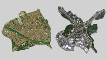 florence vs atlanta density