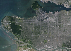 Vancouver Google Earth 2015-02-11