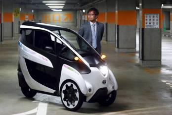 Toyota commuter car prototype 2015-04-11